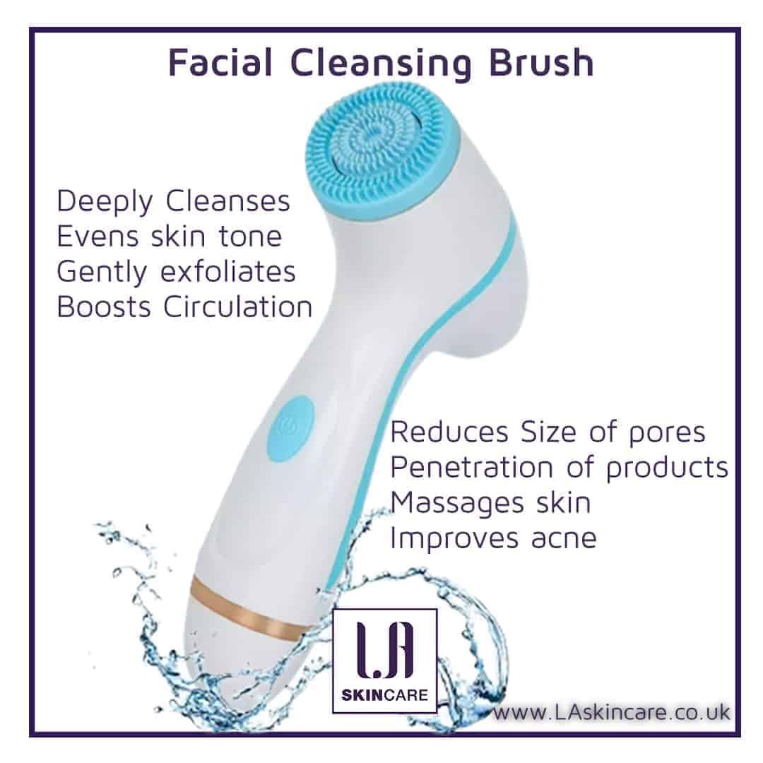 Facial cleansing brush benefits