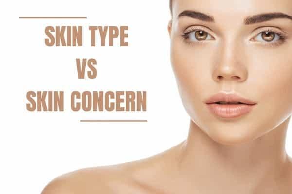 Skin type v's Skin condition